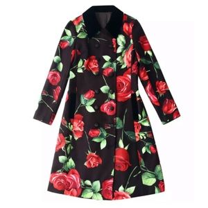 Jackets & Blazers - The JUTKA Floral Velvet Jacket